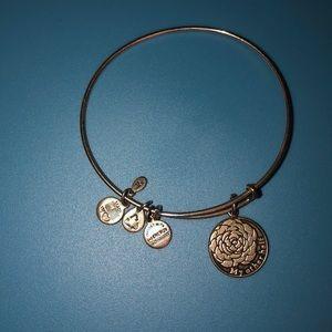 Alex and Ani My Other Half Silver Bracelet